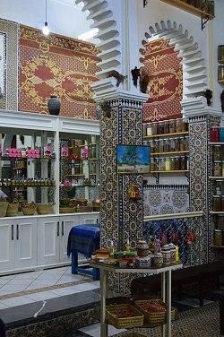 Kleines Ladengeschäft in Marokko